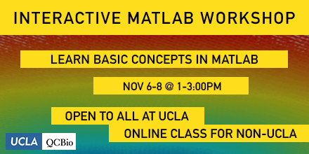 MATLAB – Day One – Institute for Quantitative and