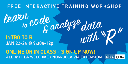 Introduction to R – Day One – Institute for Quantitative and