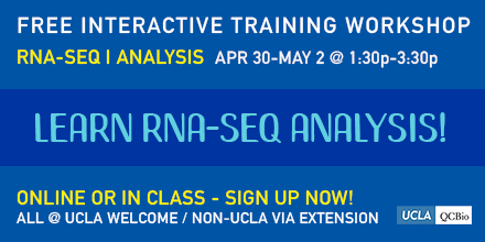 RNA-Seq Analysis I – Day Three – Institute for Quantitative
